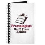 Proctologist Proctology Joke Journal