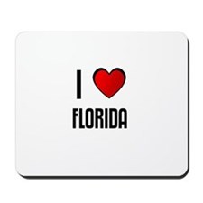 I LOVE FLORIDA Mousepad