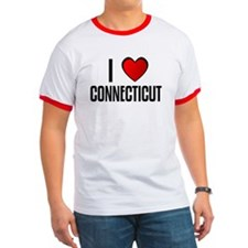 I LOVE CONNECTICUT T
