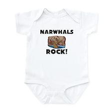 Narwhals Rock! Infant Bodysuit