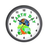 Earth Day Home Wall Clock