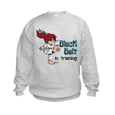Black Belt in Training Sweatshirt