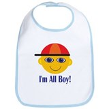 Mommy's Little Trumpet Player Bib