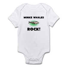 Minke Whales Rock! Infant Bodysuit