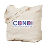Cute  condoleezza rice 2008 Tote Bag