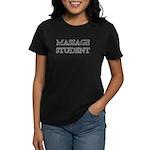 Massage Student Women's Dark T-Shirt