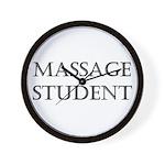Massage Student Wall Clock