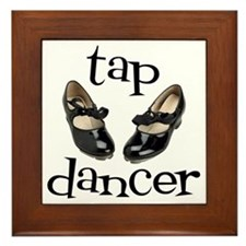 Tap Dancer Framed Tile