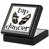 Tap Dancer Keepsake Box