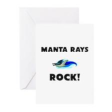 Manta Rays Rock! Greeting Cards (Pk of 10)