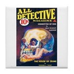 "Coaster - ""All Detective Magazine"""