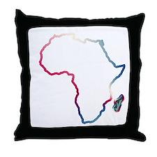 Afrika~Africa Throw Pillow