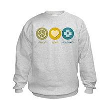 Peace Love Veterinary Sweatshirt