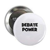 "Debate Power 2.25"" Button"
