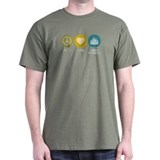 Peace Love Urban Planning T-Shirt