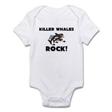 Killer Whales Rock! Infant Bodysuit