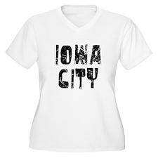 Iowa City Faded (Black) T-Shirt