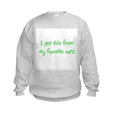 Favorite Aunt Sweatshirt