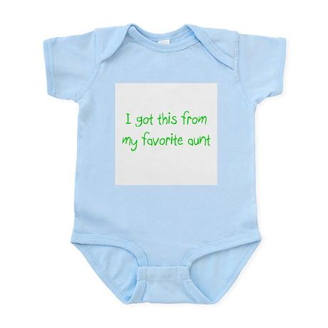 Favorite Aunt Infant Bodysuit