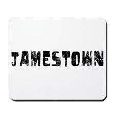 Jamestown Faded (Black) Mousepad