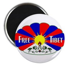 "Free Tibet - Human Rights 2.25"" Magnet (10 pack)"