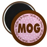 Polka Dot Groom's Mother Magnet