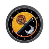 Sun, Moon, and Stars Clock