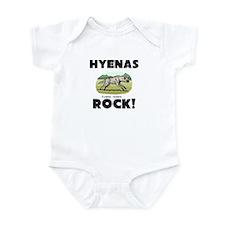 Hyenas Rock! Infant Bodysuit
