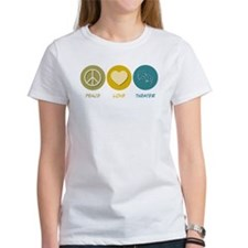 Peace Love Theater Tee