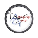 Amazing Grace Wall Clock