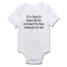 My Mommys Hot Rod Infant Bodysuit