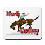 Cowboy Shirts Mousepad