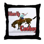 Cowboy Shirts Throw Pillow