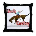 Cowboy Shirts Throw Pillow
