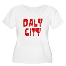 Daly City Faded (Red) T-Shirt