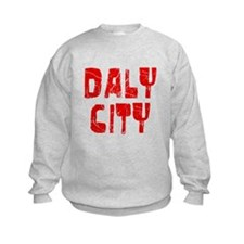 Daly City Faded (Red) Sweatshirt