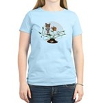 Cat Fish Bowl Women's Light T-Shirt
