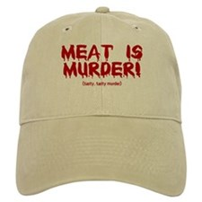 Meat Is Tasty, Tasty Murder Baseball Cap