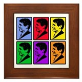 Warhol - esque Robert Kennedy Framed Tile