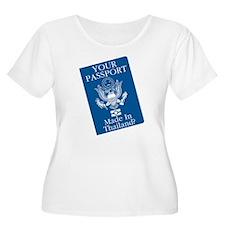 Outsourced Passport T-Shirt