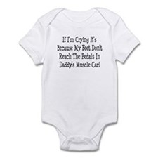 My Daddys Muscle Car Infant Bodysuit