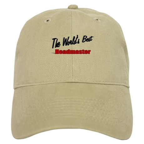 """The World's Best Headmaster"" Cap"