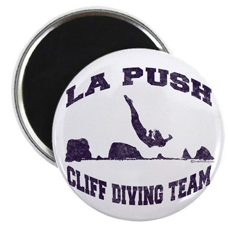 La Push Cliff Diving Team TM Magnet