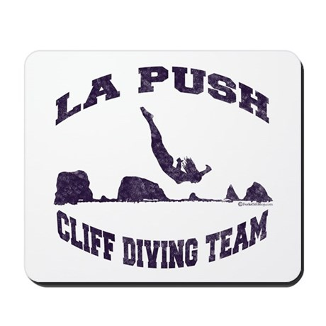 La Push Cliff Diving Team TM Mousepad