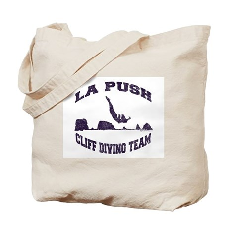 La Push Cliff Diving Team TM Tote Bag