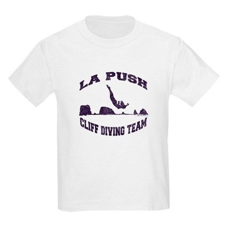 La Push Cliff Diving Team TM Kids Light T-Shirt