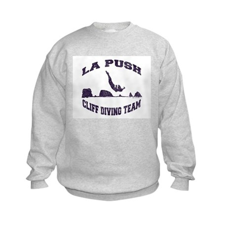 La Push Cliff Diving Team TM Kids Sweatshirt