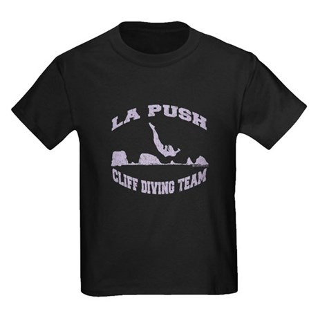 La Push Cliff Diving Team TM Kids Dark T-Shirt