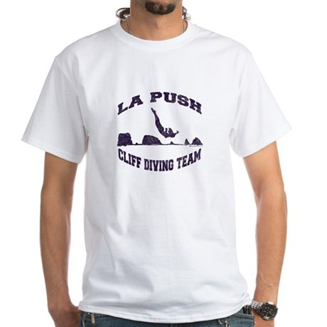 La Push Cliff Diving Team TM White T-Shirt