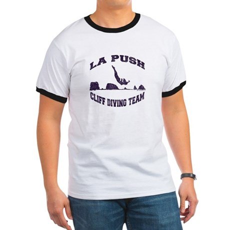 La Push Cliff Diving Team TM Ringer T
